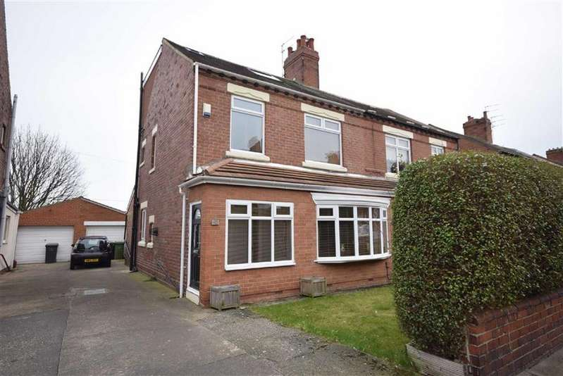 4 Bedrooms Semi Detached House for sale in Ashley Road, South Shields