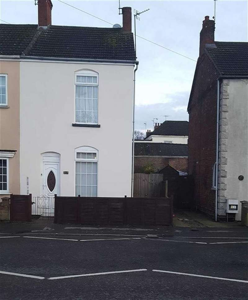 3 Bedrooms End Of Terrace House for sale in Winsover Road, Spalding