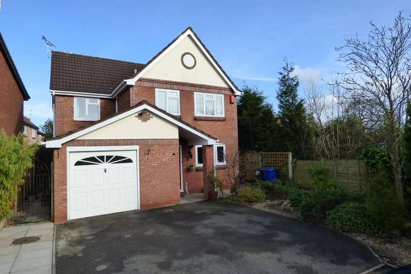 4 Bedrooms Detached House for sale in Blounts Drive, Uttoxeter, Staffordshire, ST14 8TQ