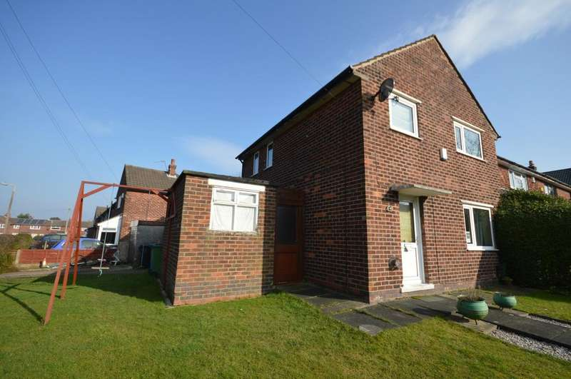 3 Bedrooms Semi Detached House for sale in Carver Road, Marple