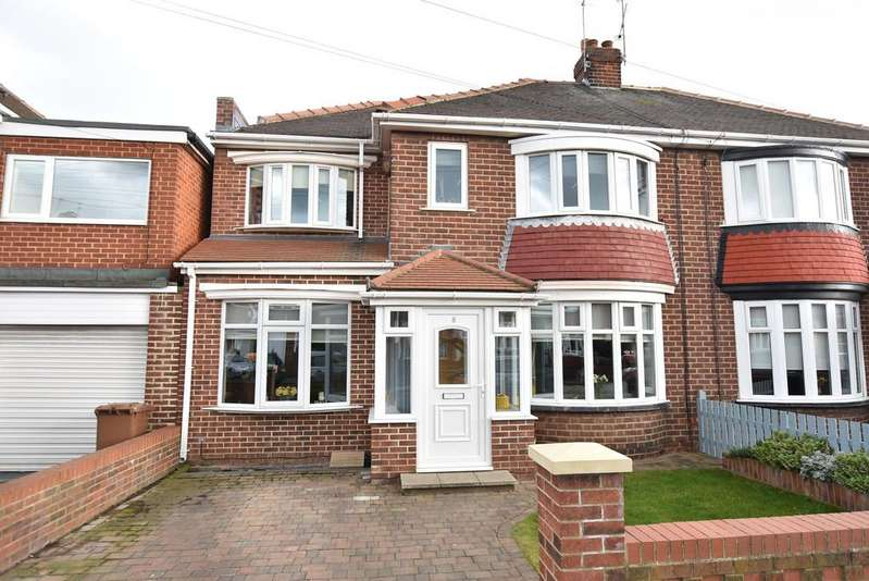 4 Bedrooms Semi Detached House for sale in Kirkstone Avenue, Fulwell