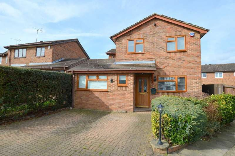 4 Bedrooms Detached House for sale in Albury Close, Luton, LU3 4AY
