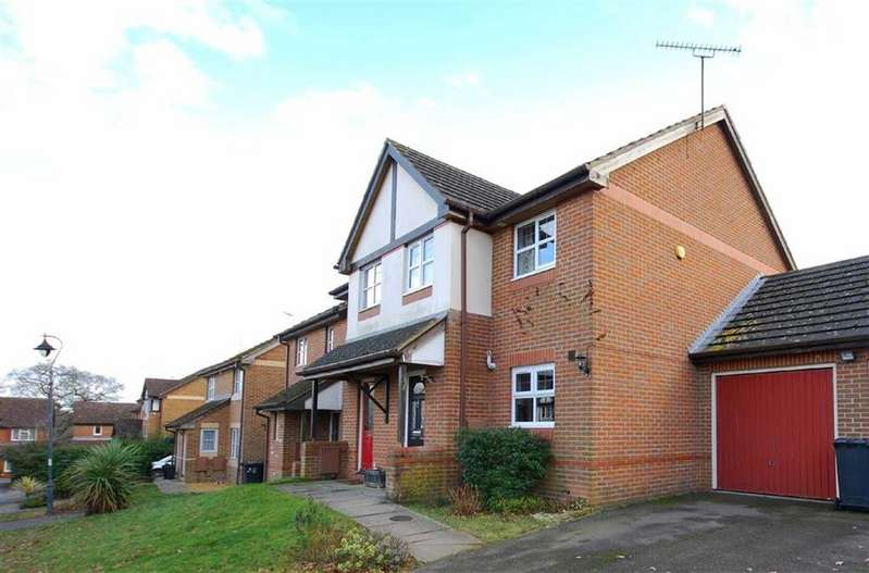 2 Bedrooms End Of Terrace House for sale in Nell Gwynn Close, Shenley