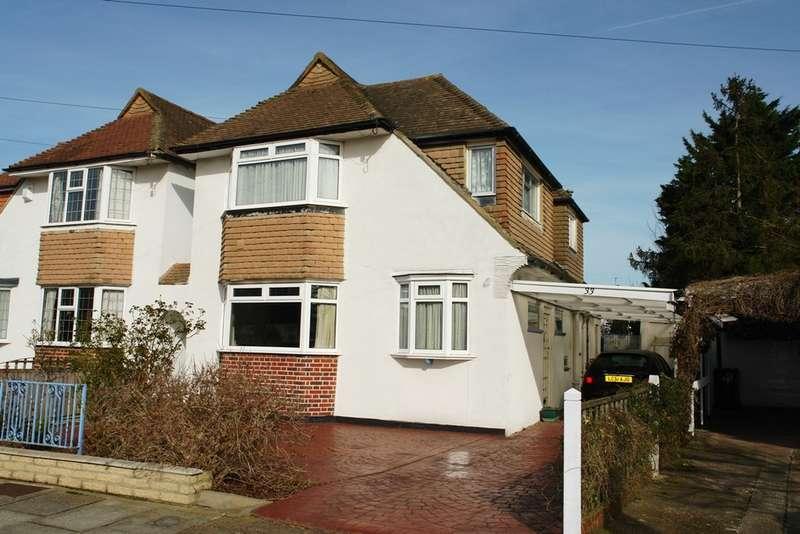 3 Bedrooms Semi Detached House for sale in Hollington Crescent, Motspur Park, New Malden