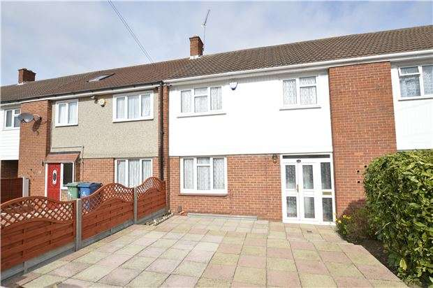 3 Bedrooms Terraced House for sale in Paulhan Road, Kenton, HARROW, Middlesex, HA3 9AR