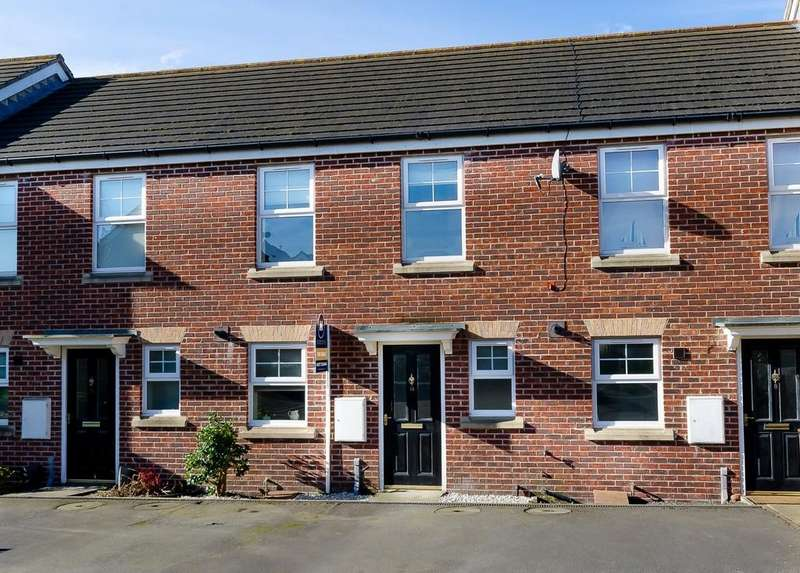 2 Bedrooms Terraced House for sale in Barnsdale Way, Ackworth