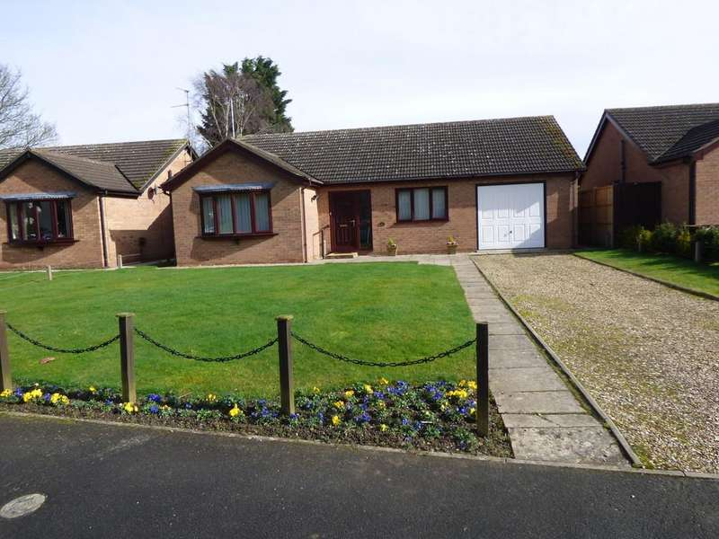 3 Bedrooms Detached Bungalow for sale in Rembrandt Way, Spalding