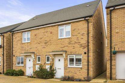 2 Bedrooms Semi Detached House for sale in Fauna Way, Peterborough, Cambridgeshire