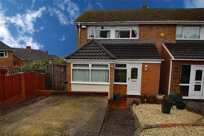 3 Bedrooms Semi Detached House for sale in Astons Close, Quarry Bank, BRIERLEY HILL