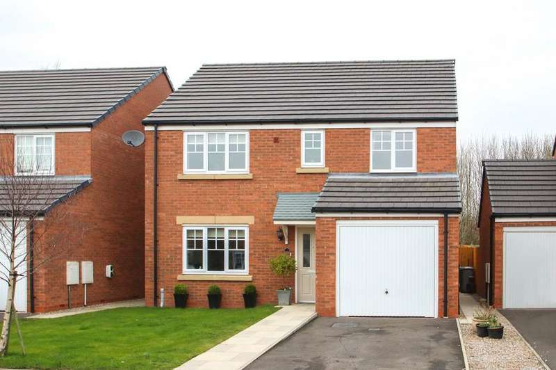4 Bedrooms Detached House for sale in Prestwood Close, Davyhulme, Manchester, M41