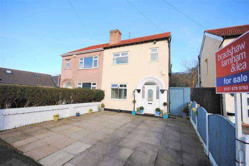 3 Bedrooms Semi Detached House for sale in Overchurch Road, Upton