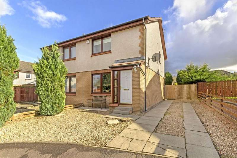2 Bedrooms Semi Detached House for sale in 2 Ben Glas Place, Darnley, Glasgow, G53