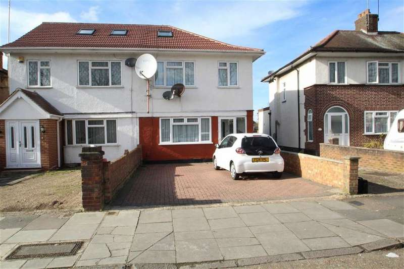 4 Bedrooms Property for sale in Hugheden Gardens, Northolt, Middlesex