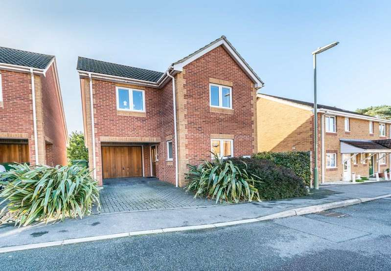 3 Bedrooms Detached House for sale in Sunnyfield Rise, Bursledon, Southampton SO31