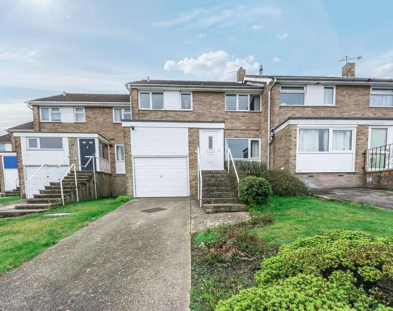 3 Bedrooms Terraced House for sale in Ravenscroft Close, Bursledon, Southampton SO31