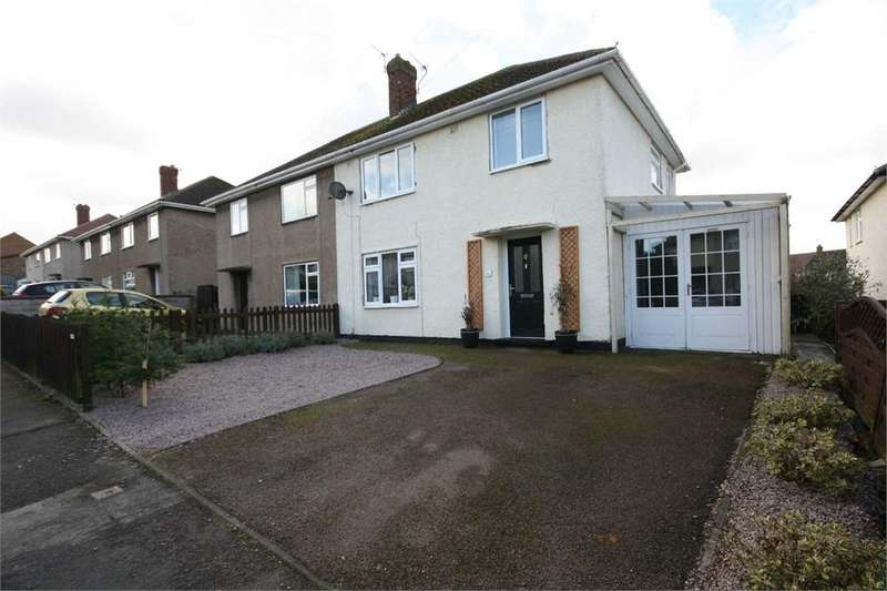3 Bedrooms Semi Detached House for sale in Barker Crescent, MELTON MOWBRAY