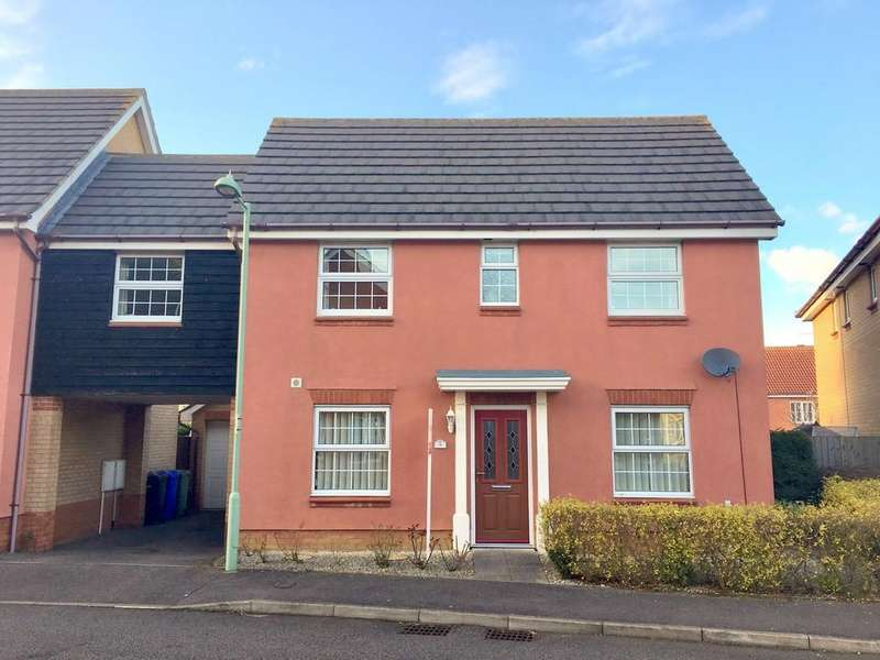 3 Bedrooms Link Detached House for sale in Gratton Dale, Carlton Colville, Lowestoft