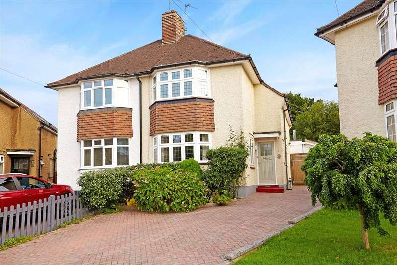 3 Bedrooms Semi Detached House for sale in Farmcombe Close, Tunbridge Wells, Kent, TN2
