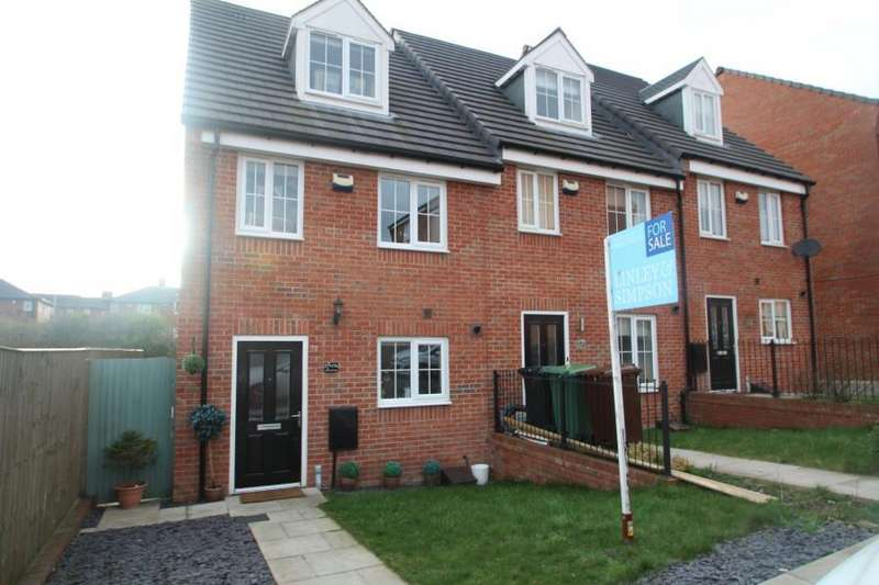 3 Bedrooms End Of Terrace House for sale in WAGGON ROAD,NEW FOREST VILLAGE, LEEDS, LS10 4GX