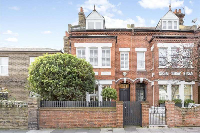 5 Bedrooms End Of Terrace House for sale in Dalling Road, Brackenbury Villlage, London, W6