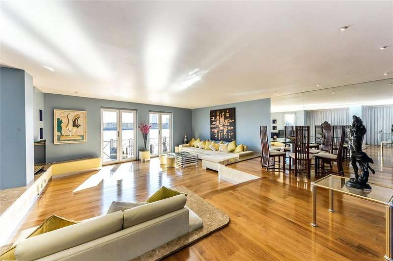 2 Bedrooms Flat for sale in Pelican Wharf, 58 Wapping Wall, Wapping, London, E1W