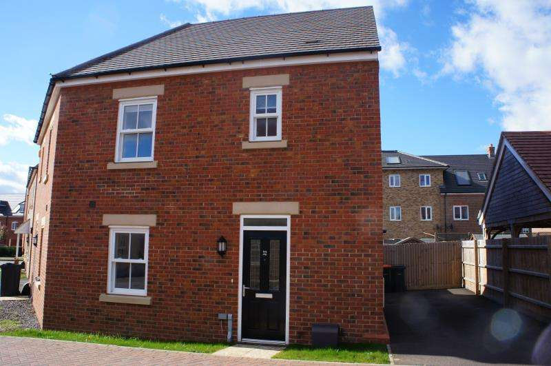 2 Bedrooms Semi Detached House for sale in Lewis Close, Kempston, Bedfordshire