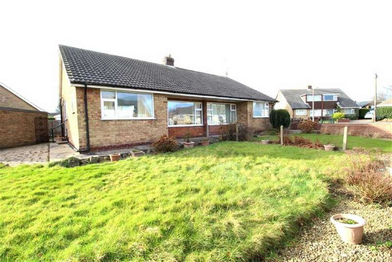 2 Bedrooms Semi Detached Bungalow for sale in Lodge Close, Cayton, Scarborough, North Yorkshire