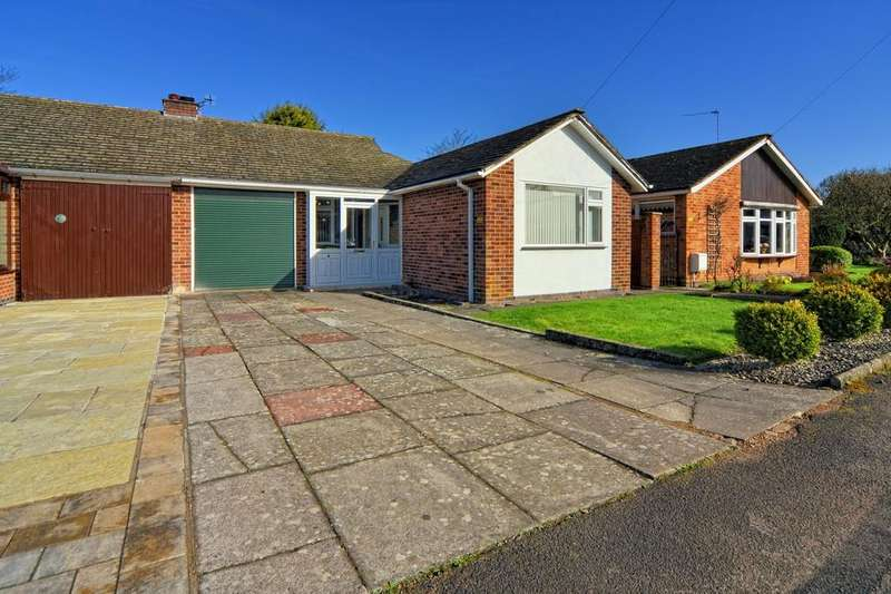2 Bedrooms Semi Detached Bungalow for sale in Runnymede Drive, Balsall Common