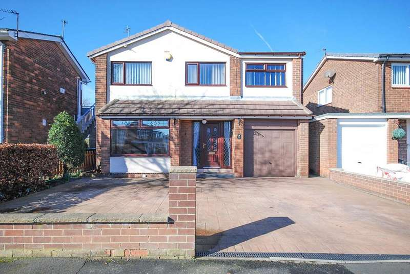 4 Bedrooms Detached House for sale in Briardene Drive, Wardley