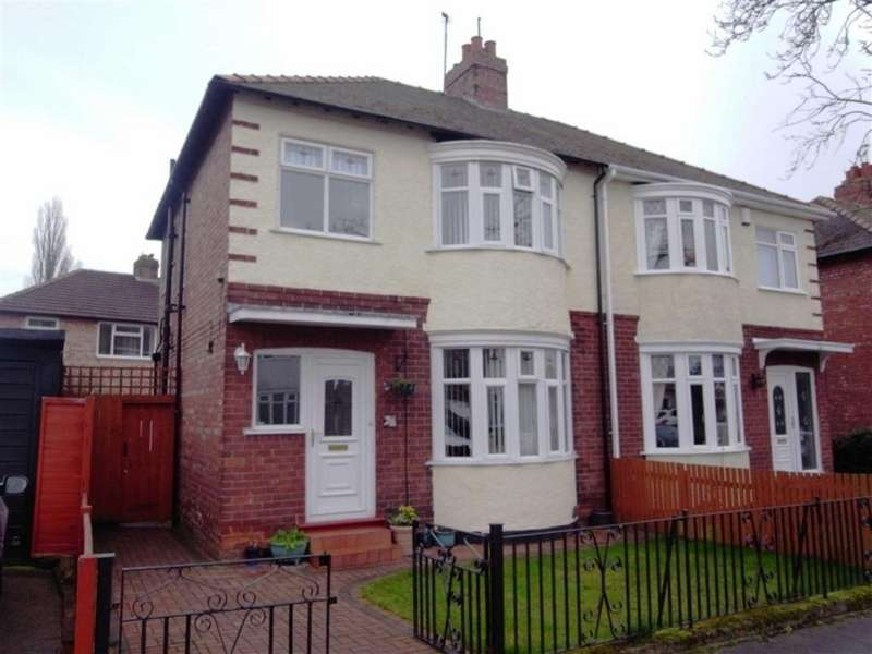 3 Bedrooms Semi Detached House for sale in Kensington Gardens, Darlington