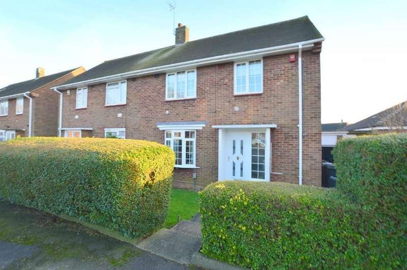 3 Bedrooms Semi Detached House for sale in Red Rails, Farley Hill, Luton, LU1 5ND