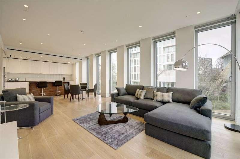 2 Bedrooms Flat for sale in Hollandgreen Place, Kensington High Street, Kensington, London, W8