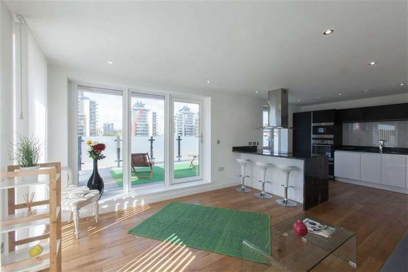 1 Bedroom Penthouse Flat for sale in Stockbridge House, London, SW18