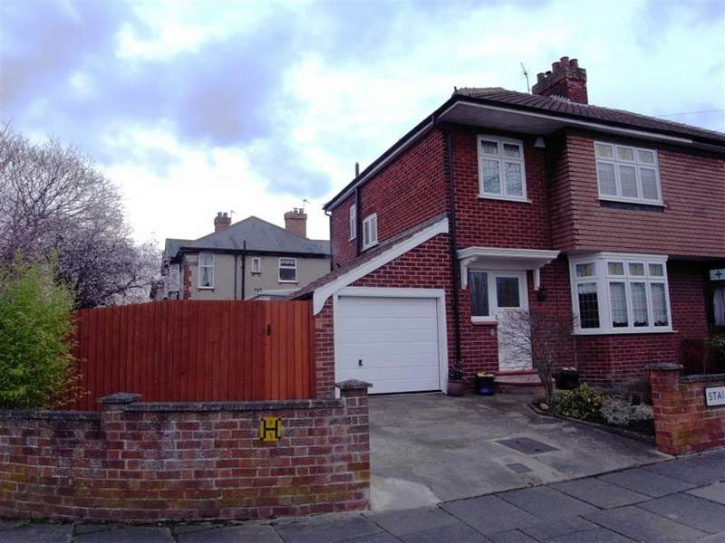 3 Bedrooms Semi Detached House for sale in Staindrop Crescent, Darlington