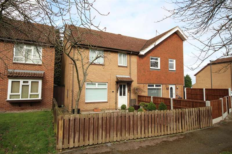 3 Bedrooms Semi Detached House for sale in Powtrell Place, Ilkeston