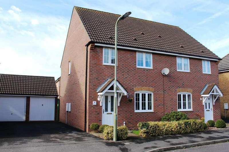 3 Bedrooms Semi Detached House for sale in Harrier Green, Holbury