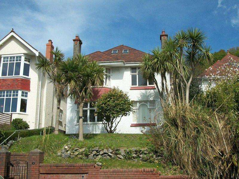 5 Bedrooms Detached House for sale in Hillside Crescent, Uplands, Swansea, City County of Swansea.