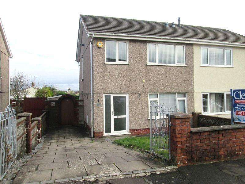 3 Bedrooms Semi Detached House for sale in Heol Cynan , Gorseinon, Swansea, City County of Swansea.