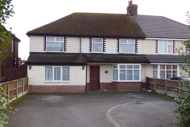 5 Bedrooms Semi Detached House for sale in Burton Road, Branston