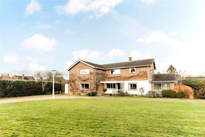 4 Bedrooms Detached House for sale in Pirton Lane, Churchdown, Gloucester, Gloucestershire, GL3