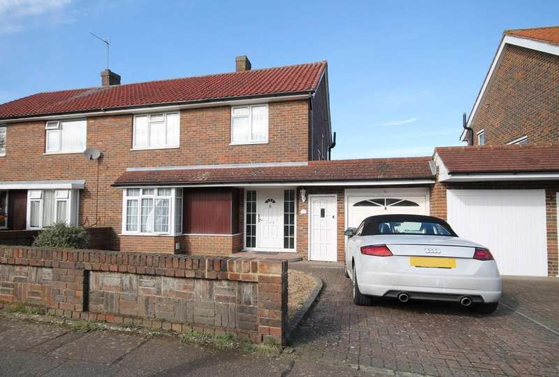 3 Bedrooms Semi Detached House for sale in Edmunds Road, Hertford