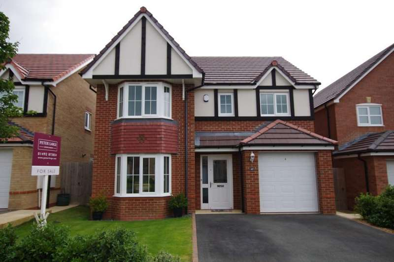 4 Bedrooms Detached House for sale in Lon Lafant, Llandudno Junction