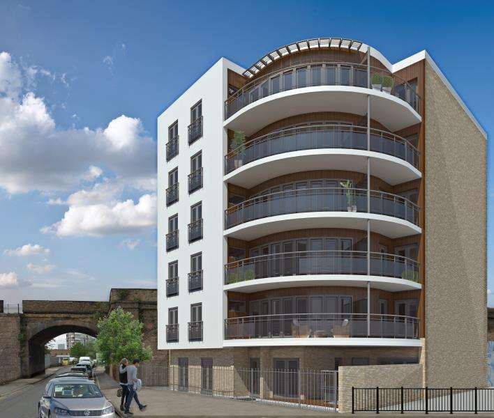 3 Bedrooms Apartment Flat for sale in 2 Sphere Apartments, St Pauls Way, E3