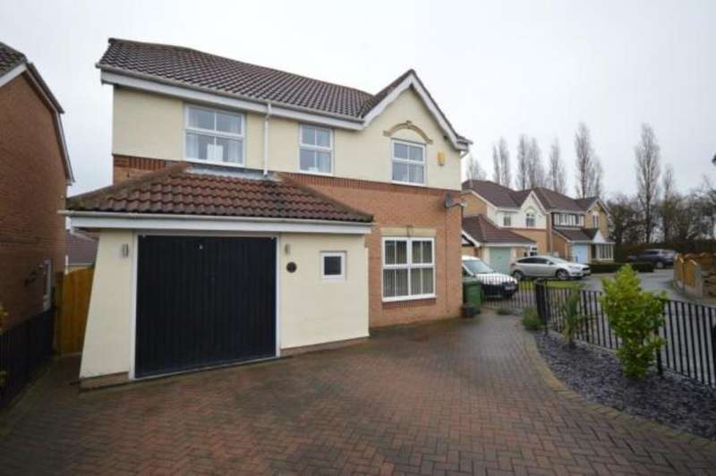 4 Bedrooms Detached House for sale in MILLCROFT RISE, LOFTHOUSE, WAKEFIELD, WF3 3TL