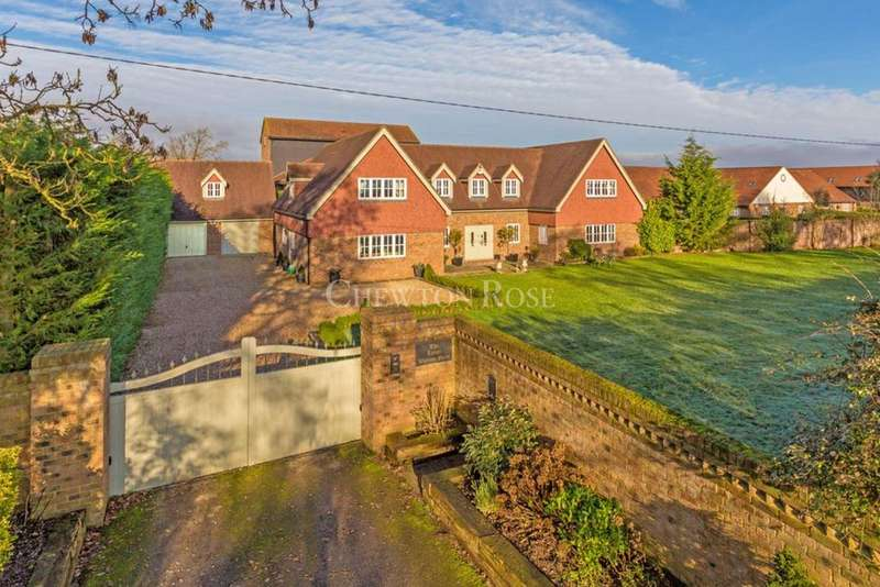 5 Bedrooms Detached House for sale in Warren Road, Little Horwood