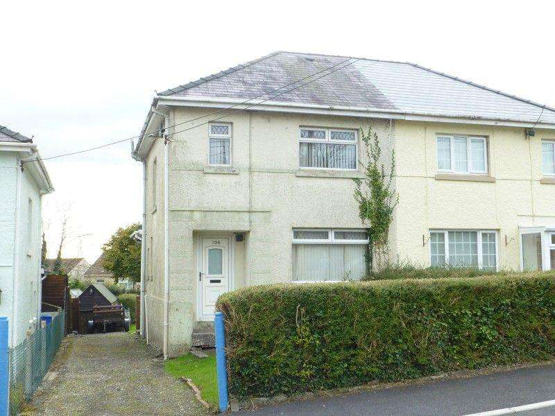 3 Bedrooms Semi Detached House for sale in Mountain Road, Upper Brynamman, Ammanford, Carmarthenshire.