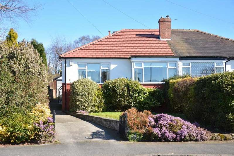 3 Bedrooms Semi Detached Bungalow for sale in Tinshill Crescent, Cookridge