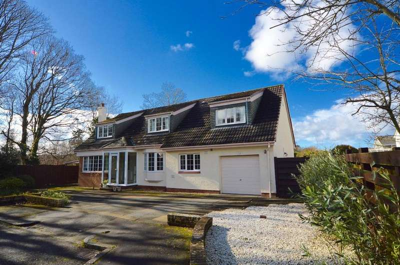 5 Bedrooms Detached House for sale in Upper Crofts, Alloway, Ayr, Ayrshire, KA7 4QX
