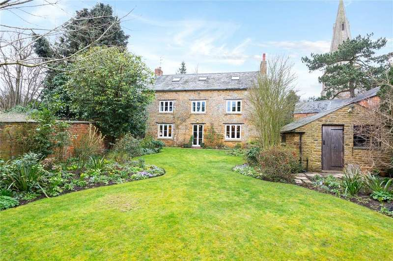 4 Bedrooms Detached House for sale in Church Lane, Walgrave, Northamptonshire, NN6