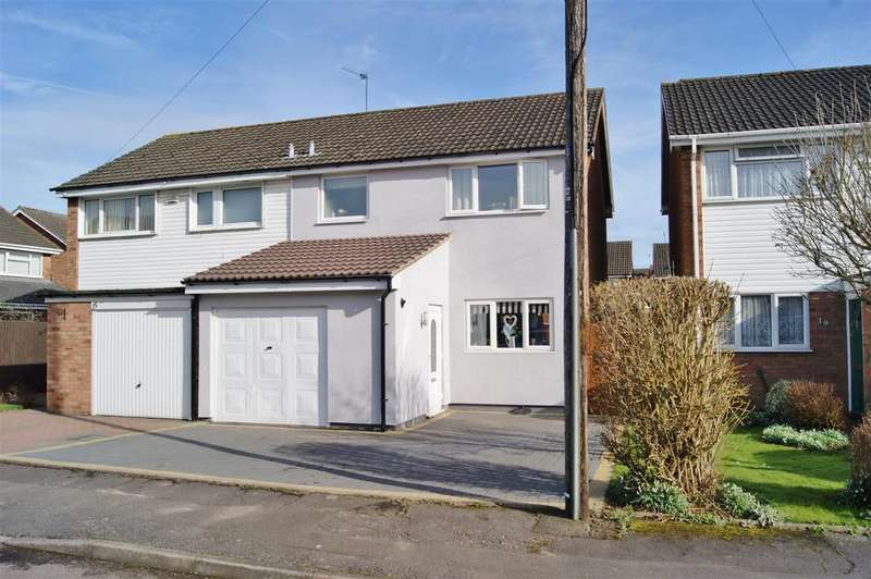 3 Bedrooms Semi Detached House for sale in Cheadle Close, Aldermans Green, Coventry